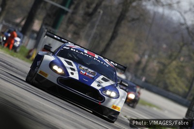 Daniel at Monza in the Blancpain Endurance Series