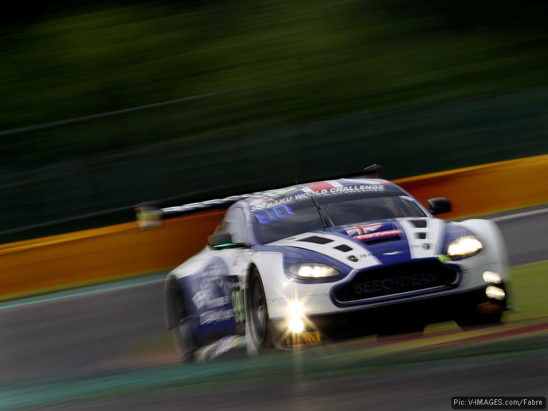 On track in the Total 24 Hours of Spa