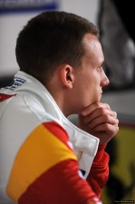A thoughtful Daniel during the Imola weekend