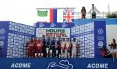 Five races, four podiums