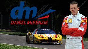 Daniel McKenzie: racing driver, brand ambassador and driver coach